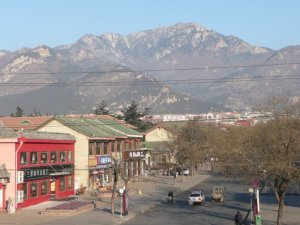 Tai Shan mountain, above Tai'an