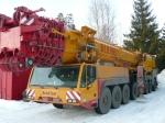 The 500-ton capacity crane